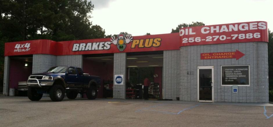 Front of Brake Shop